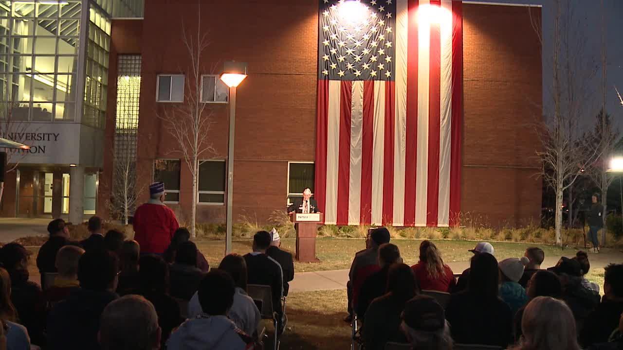 2019 Veterans Week Flag Tribute